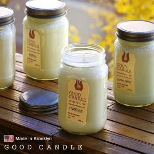 グッドキャンドル 1ポンド メイソンジャー キャンドル Good Candle 1LB Mason jar candle あすつく対応|plywood