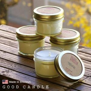 グッドキャンドル 1/4ポンド ゼリージャー キャンドル Good Candle 1/4LB Jelly jar candle あすつく対応|plywood