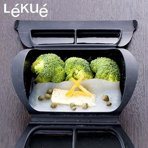 【レシピブック付き】 ルクエ スチームケース ペティート Lekue Steam Case  Petit 62041 plywood