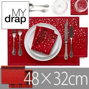 MYdrap Cotton Christmas color マイドラップ コットン クリスマス カラー《48x32cm/6units》|plywood
