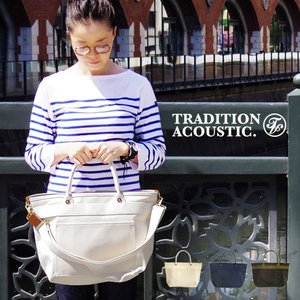 Tradition Acoustic HEAVYWEIGHT LINE 2way Tote Bag [Sサイズ]|plywood