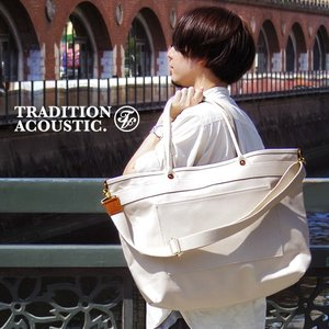 Tradition Acoustic HEAVYWEIGHT LINE 2way Tote Bag [Lサイズ]|plywood