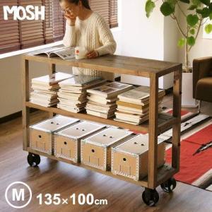 [開梱/組み立て/設置/梱包材回収/無料]木製 モッシュ ムート シェルフ ミドルタイプ MOSH MUT SHELF M [完成品] メーカー直送品 送料無料(東北/北海道/沖縄除く)|plywood