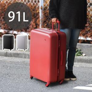 ±0 スーツケース 91L キャリーケース TSAロック|plywood