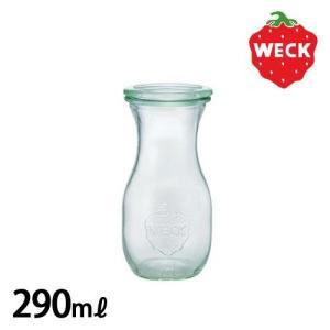 ウェック ジュース ジャー WE-763 [ 290ml ] WECK JUICE JAR / フタ:Sサイズ あすつく|plywood