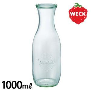 保存容器 保存瓶 ウェック ジュース ジャー 1000ml WECK JUICE JAR WE-766 フタ Sサイズ あすつく|plywood
