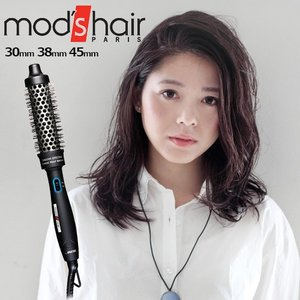 モッズヘア マジックヒートブラシ mod's hair MAGIC HEAT BRUSH  MHB 4565 3565 3065 K 最高温度140℃ 海外対応|plywood