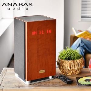 オーディオプレイヤー ANABAS アナバス CDクロックラジオシステム AA-001|plywood