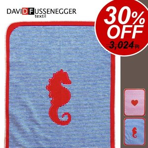 David Fussenegger デヴィッド フッセネガー JUWEL BLANKET 70×90 STRIPES ジュエル ブランケット [ ベビー 赤ちゃん ひざ掛け ]|plywood