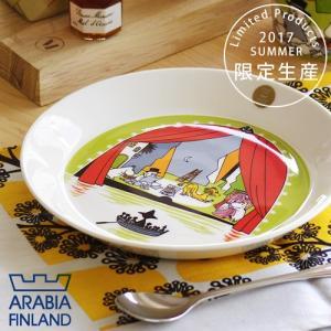 夏 プレート アラビア ムーミン シアター 2017 ARABIA|plywood