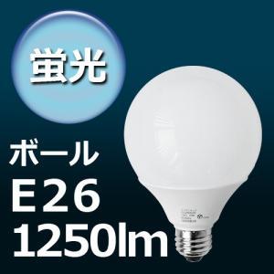 エコデンキュウ オーム電機 ボール球形 ≪ E26/20W 100W相当 ≫ ECOdeQ OHM [ EFG25ED/20 EFG25EL/20 ] 電球色 昼光色|plywood