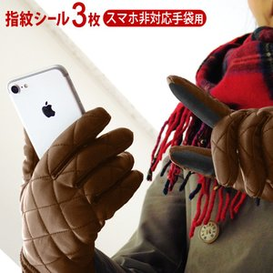 Diper ID 擬似指紋 スマートフォン非対応手袋用 3枚入り [DPI0002-12]|plywood