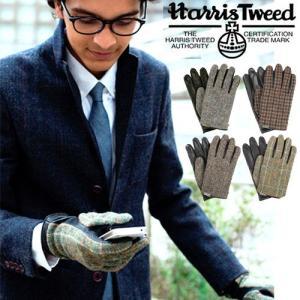 スマホ 手袋 ハリスツイード エヴォルグ EVOLG Harris Tweed SIR 送料無料 あすつく対応|plywood