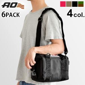 クーラーボックス 保冷バッグ 小型 AO Coolers キャンバス ソフトクーラー 6パック