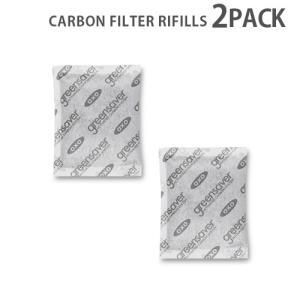 オクソ グリーンセーバー活性炭リフィル 4ピース あすつく対応 ポイント10倍|plywood
