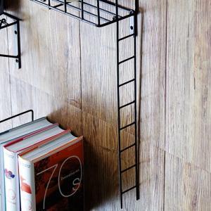 ウォールシェルフ 壁収納棚 収納棚 ファイヤーエスケープ ラダー FIRE ESCAPE Ladder|plywood