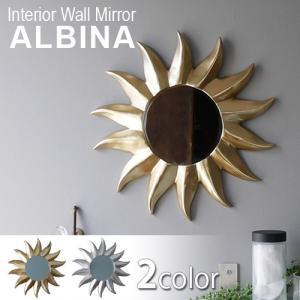 インテリア ウォール ミラー アルビナ|plywood