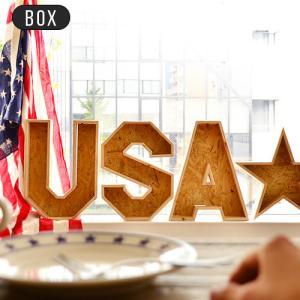 アルファベット オブジェ 木製 ボックス JUNK WOOD アルファベットBOX 送料無料|plywood