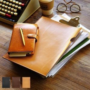 クリアファイル a4 日本 ファイル 文房具 レザー A4 ファイル leather A4 file 送料無料|plywood