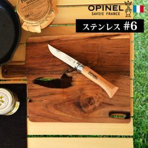 折りたたみナイフ 包丁 オピネル ステンレス#6|plywood