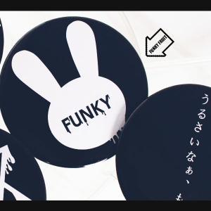 FUNKY FRUIT ORIGINAL/ドロウサギ缶バッチ/メール便不可/10024/99n/funkyfruit|pmcorporation