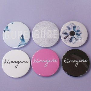 GURE/kimagure 缶バッジ/メール便不可/10027/99n/funkyfruit|pmcorporation