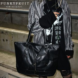 ライダーストートバッグ/メール便不可/5582768/53n/funkyfruit|pmcorporation