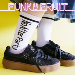 No After Partyロゴソックス/メール便不可/86-4510/32n-11/funkyfruit|pmcorporation