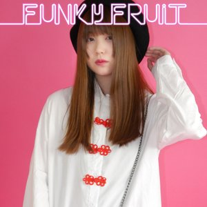 FUNKY FRUIT ORIGINAL/チャイナボタンロングシャツワンピース/メール便不可/mitp-305/55n/funkyfruit|pmcorporation
