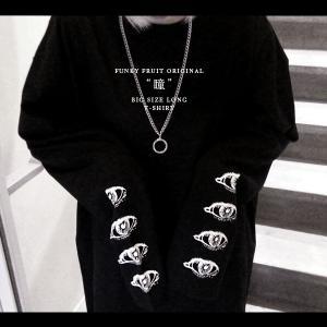 FUNKY FRUIT ORIGINAL/瞳4連袖プリントロングTシャツ/メール便不可/nc-080-lt/113n/funkyfruit|pmcorporation