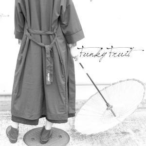 ファンキーフルーツオリジナル UNDER GROUND-虎馬- 刺繍ベルト付ガウンコート/メール便不可/ttp1554/07n|pmcorporation