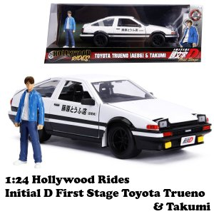 JADA TOYS ジェイダトイズ 1:24 Hollywood Rides INITIAL D. ...