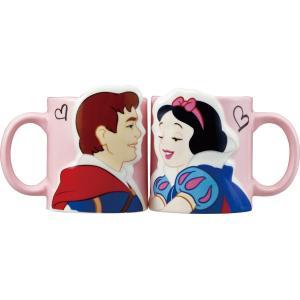 白雪姫のペアマグカップ セクシーなペアマグです♪ ラブラブカップルの方や結婚などのギフトに最適!! ...