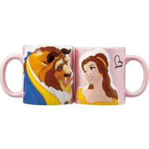 美女と野獣 キスのペアマグカップ セクシーなペアマグです♪ ラブラブカップルの方や結婚などのギフトに...
