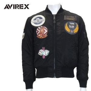 AVIREX アヴィレックス MA-1 TOP GUN BLACK [6152164] メンズ・ユニセックスC001|pmsports