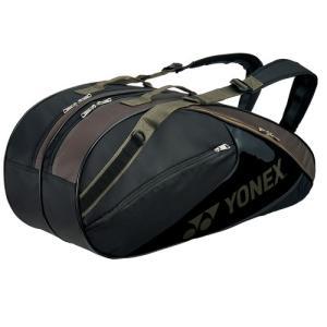 ヨネックス ラケットバッグ6 (リュック付)<テニス6本用> カーキ YONEX BAG1732R-...