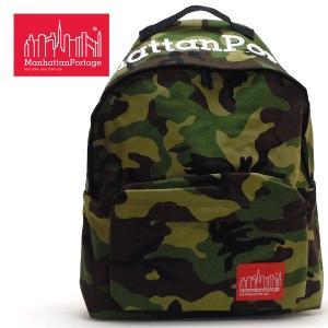 MANHATTAN PORTAGE MP Embroidery Big Apple Backpack MP エンブロイダリービッグアップルバックパック ウッドランドカモ [MP1210MPEMB]S007|pmsports