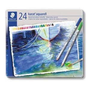 色鉛筆の持ち味と水彩画の風合いを同時に引き出すことができる。  特殊な顔料を使用した柔らかな芯。なめ...