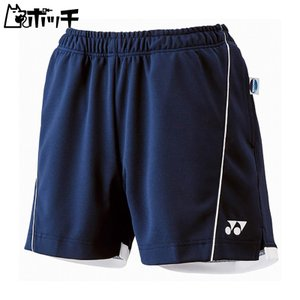 ヨネックス ニットショートパンツ 25022 019ネイビーブルー YONEX レディース テニス ウェア ユニフォーム テニス用品|pocchi-shop
