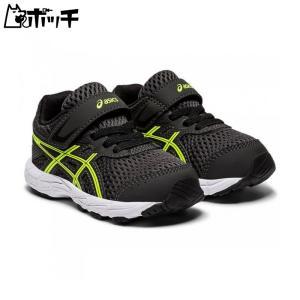 アシックス 運動靴 CONTEND 6 TS 1014A085-023- グラファイトグレー/セーフティーイエロー asics キッズ pocchi-shop