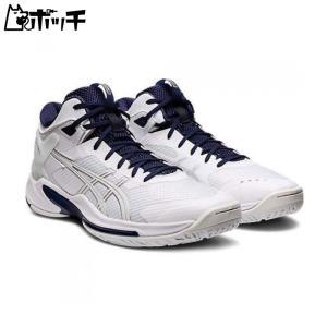 アシックス バスケットシューズ GELBURST 24 1063A015-103 ホワイト/ピーコート asics ユニセックス バスケットボール pocchi-shop