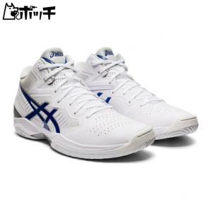 アシックス バスケットシューズ GELHOOP V12 1063A022-100 ホワイト/アシックスブルー asics ユニセックス バスケットボール pocchi-shop