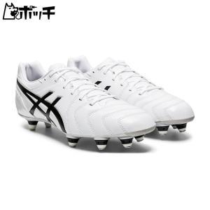 アシックス ラグビースパイク DS LIGHT ST 1101A020-100 ホワイト/ブラック asics メンズ サッカー|pocchi-shop