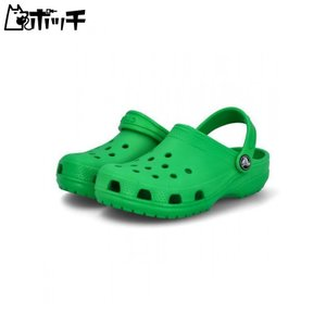 クーポンで30%OFF クロックス サンダル クラシック クロッグ 204536-3E8 Grass Green crocs キッズ|pocchi-shop