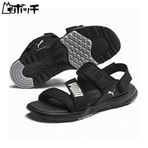 プーマ サンダル JS Trail Sandal 372488-01 ブラック/ブラック/ハイライズ PUMA ユニセックス|pocchi-shop