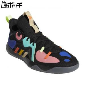 アディダス シューズ ハーデン ステップバック 2 LGD14-FZ1069 コアブラック/イエロー/アシッドミント adidas メンズ バスケットボール|pocchi-shop