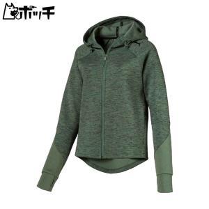 プーマ トレーニングウェア EVOSTRIPE フーデッドジャケット レディース 853511 23|pocchi-shop