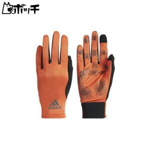 adidas アディダス トレーニングウェア ベーシックフィットグローブ ユニセックス  オレンジ/ブラック メンズ EBY25 DM8737|pocchi-shop