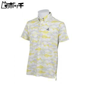 ルコックス ポルティフゴルフ メンズ 半袖シャツ le coq sportif GOLF COLLECTION QGMLJA04 YL00|pocchi-shop