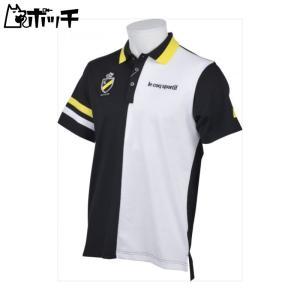 クーポンで30%OFF le coq sportif ルコックスポルティフ ゴルフ GOLF COLLECTION 半袖シャツ メンズ ブラック QGMLJA07 BK00|pocchi-shop